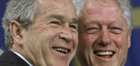 George W. Bush, Bill Clinton discuss campaign surrogacy ... - politico.com