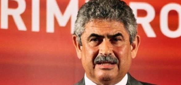 Luís Filipe Vieira é presidente do Benfica desde 2003.