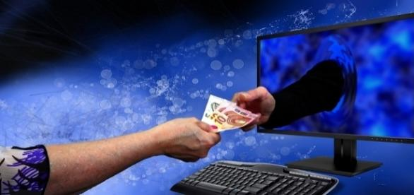 Sinnbild zum Thema Domain-Kauf und Verkauf