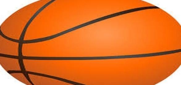 A logo of a basketball - https://pixabay.com/en/photos/basketball/
