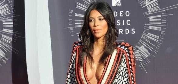 Kim Kardashian and her breast - inquisitr.com
