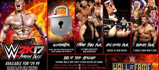 WWE 2K17 DLC-Plan veröffentlicht!
