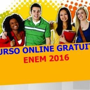 São milhares de vagas gratuitos para o curso online preparatório para o ENEM 2016