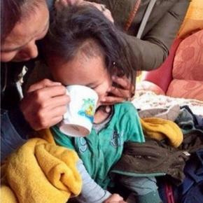 Un băiețel de trei ani a fost găsit în taigaua siberiană după trei zile nevătămat - Foto: Siberian Times