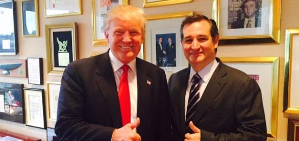 Donald Trump gets Cruz's vote! Photo: Blasting News Library - David Pakman Show - The ... - trofire.com