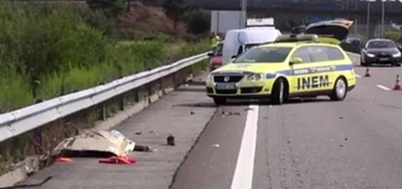 Apesar dos esforços dos socorristas, vítima não resistiu aos ferimentos