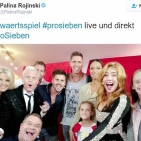,,Das Auswärtsspiel' - kein Heimspiel für ProSieben. Quelle: Twitter Palina Rojinski