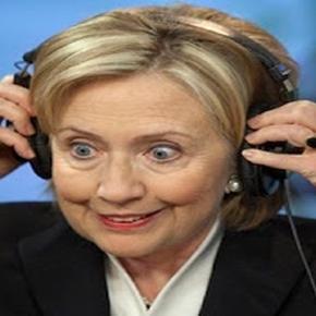 Präsidentschaftskandidatin Hillary Clinton.
