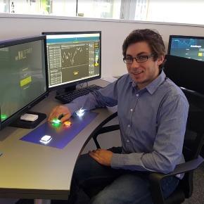 Robin Mayler, Filialleiter Trading Center (Karmen).