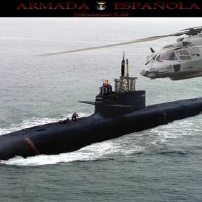 Spanisches U-Schiff von Typ S-80.