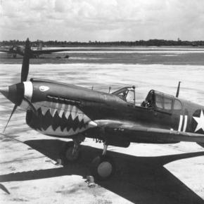 The Flying Tigers - American Volunteer Group, flew P-40s over China - acepilots.com