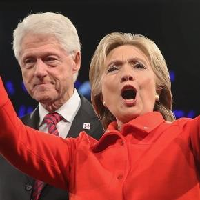 Hillary Clinton & Bill Clinton - no breaking glass ceiling here! Photo: Blasting News Library - nationalreview.com