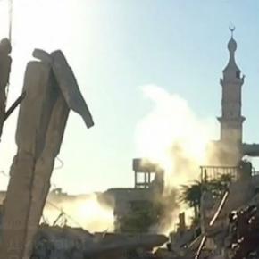 In Aleppo stehen immer noch Moscheen. Die Russen kämpfen nicht gegen den Islam. YT-Video: Вести в 2000 от 260916