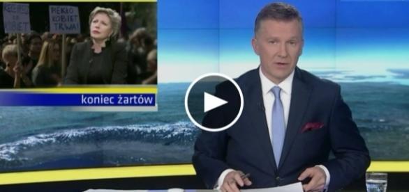 Mało objektywna narracja faktów TVN ws. sporu o prawo aborcyjne.