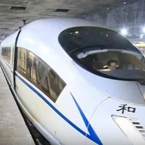 Asia's largest underground railway station - S. China / Photo screencap by New China Tv via Youtube.com