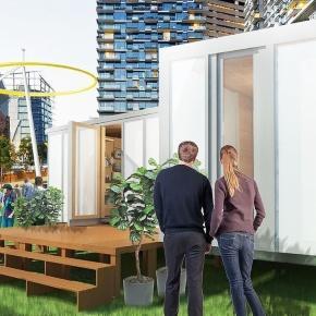 Un arhitect a inventat o casă care poate fi construită de oricine, cu doar 3 unelte