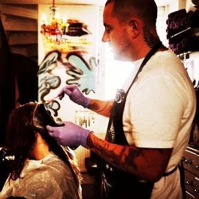 Flickr working man tattooed hairdresser