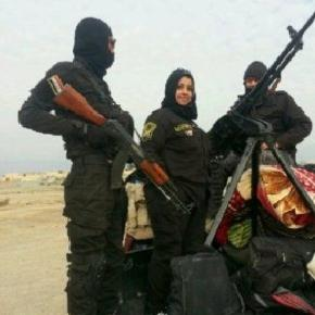 Statul Islamic este îngrozit de cruzimea luptătoarei kurde