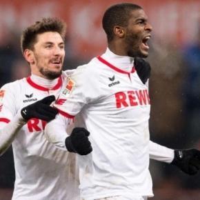 Tritt! Theater! Tor! Köln feiert Anthony Modeste - Bundesliga ... - bild.de