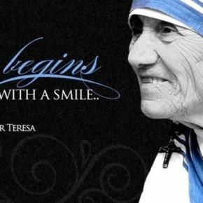 """Peace begins with a smile.""- Mother Teresa. / Photo by Ryan Rivera. CC BY-ND 2.0, via Flickr.com"
