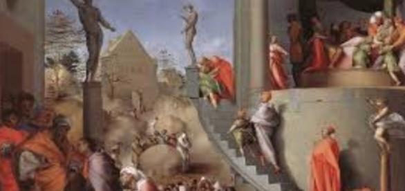 "Pontormo's ""Joseph in Egypt"" artreneweal.org Creative Commons"