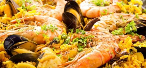 Un Piatto della cucina Spagnola