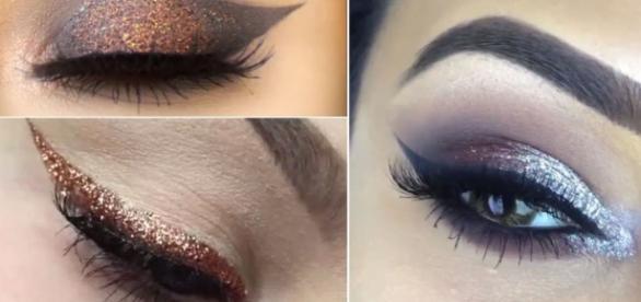 12 glitter eye makeup Instagram tutorials - cosmopolitan.co.uk