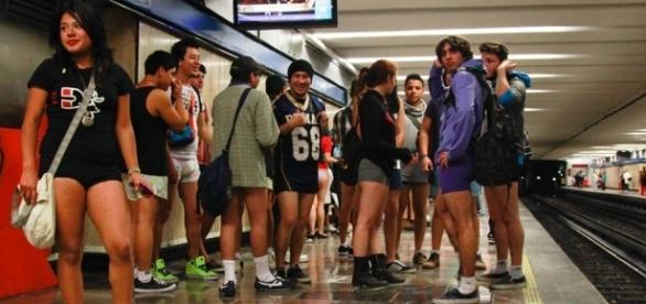 El circo en el Metro de la CDMX