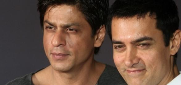 Most popular Bollywood actors - ibtimes.co.uk/shahrukh-khan-aamir-khan-rivalry-pk-star-worried-after-happy-new-years-colossal-opening-box-1472696