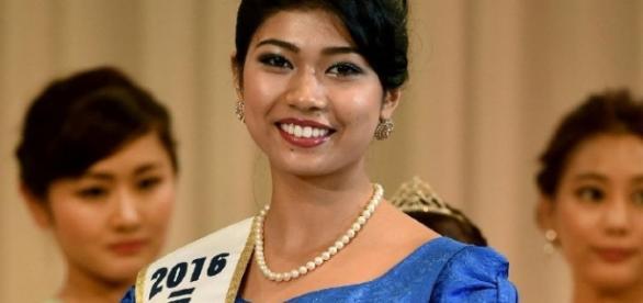 Japanese-Indian Priyanka Yoshikawa Miss Japan 2016