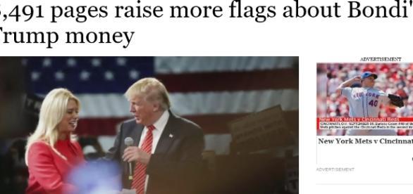 La procureure générale de Floride est une républicaine soutenant le candidat D. Trump