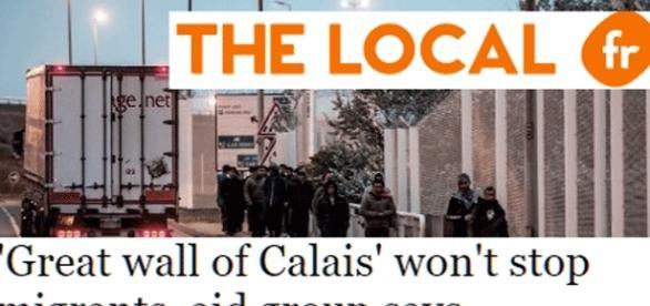 Ni les associations d'aide aux migrants, ni les corporations de camionneurs n'approuvent l'érection du mur de Calais