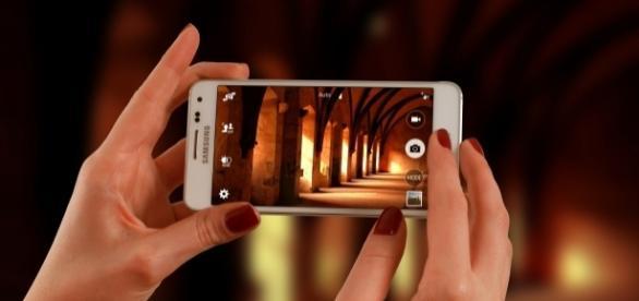 Como tirar fotografias apenas com o telemóvel.