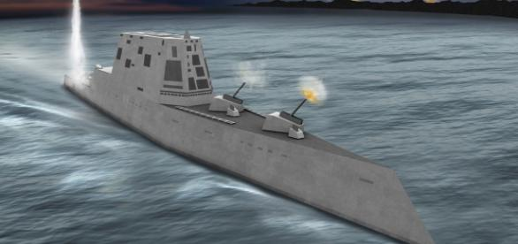 ZUMWALT, cel mai mare distrugător construit de SUA se va alătura Marinei americane