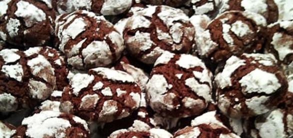 Biscotti morbidi al cioccolato fondente