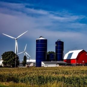 wind farm tpsdave, Pixabay.com creative commons license