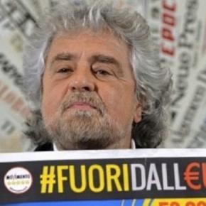 Beppe Grillo, da sempre sostenitore della fuoriuscita dell'Italia dall'Eurozona: dal M5S un tentativo fallito di svolta moderata