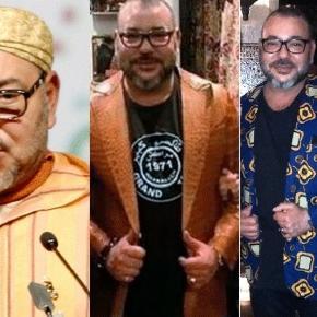 Sa Majesté Mohammed VI, roi du Maroc, ne montre encore pas ses dessous. BDSM ?