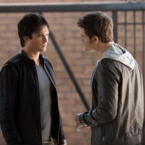 The Vampire Diaries 8x08: Damon e Stefan invertem seus papéis (Foto: CW/Divulgação)