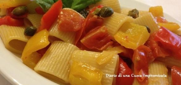Mezze maniche ai peperoni una ricetta sfiziosa per ogni tipo di palato