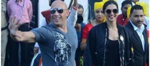 Vin Diesel arrived in Mumbai for xXx Return of Xander Cage / Photo screencap from Bollyhungama via Twitter