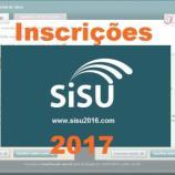 Inscrições para o Sisu 2017 começam dia 24 de janeiro