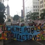 CNTE protesta en la CdMx por violencia en Oaxaca - Grupo Milenio - milenio.com