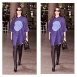 Sonam Kapoor wearing Bhane at the airport