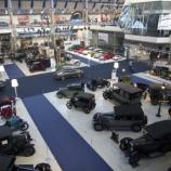 Musée Autoworld depuis la coursive