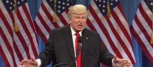"Alec Baldwin on ""Saturday Night Live,"" via Twitter"