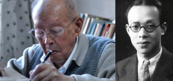 Zhou Youguang (montage Jef T. ; photo ong C - Own work, CC BY-SA 3.0 & DR), créateur du pingyin, décédé à 111 ans