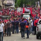 Seguidores del partido oficialista apoyan gobierno de Nicolás Maduro.