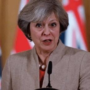 Devant le corps diplomatique, Theresa May a déclaré qu'elle baliserait le Brexit en douze points ce mardi