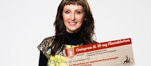 Hanka nimmt täglich 30 mg Citalopram / Fotos: Foto: RTL / Ruprecht Stempell; Aluid Pharma